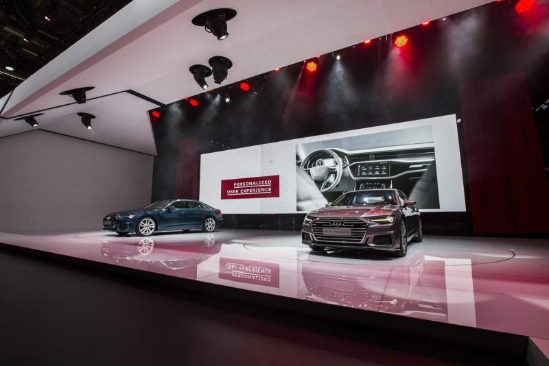 Новая Audi A6 идет конкурировать с 5-Series и E-Class