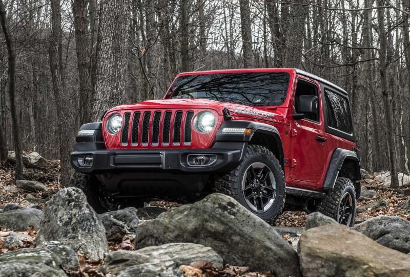 Jeep Wrangler, Cherokee и Trackhawk в евро спецификации покажут в Женеве