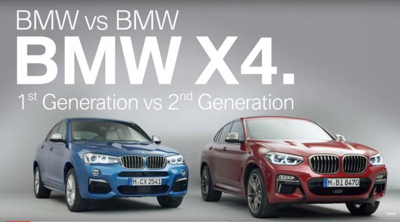 Чем отличается первое поколение BMW X4 от итерации второй [видео]