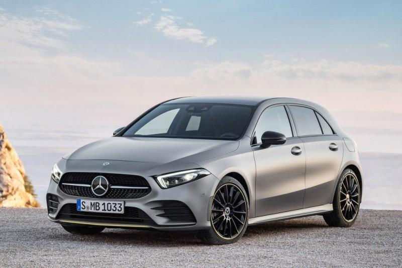 Новый 2018 Mercedes A-Class дороже, чем BMW 1-Series