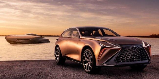 Toyota задумала выпускать под брендом Lexus роскошные яхты