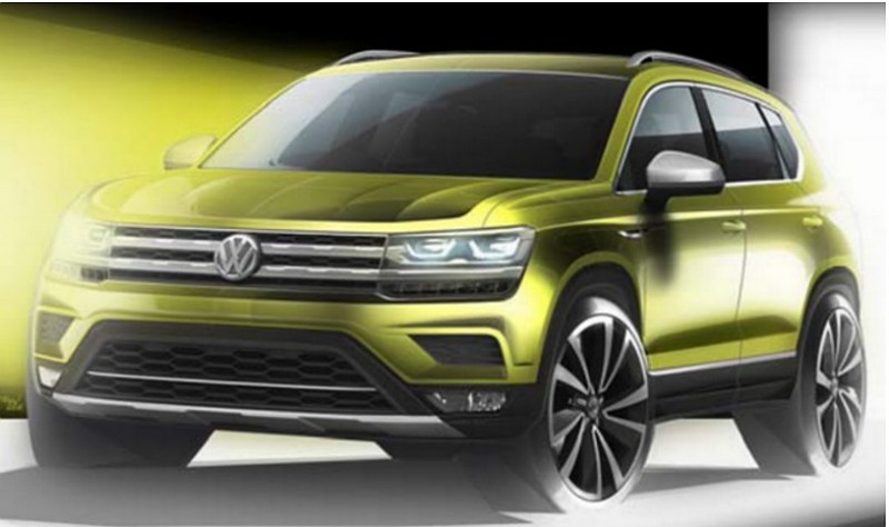 Внедорожник «Volks-SUV» не будет продаваться в Европе