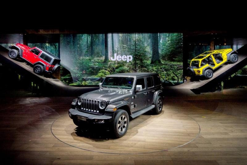 Женева 2018: новый Jeep Wrangler для Европы