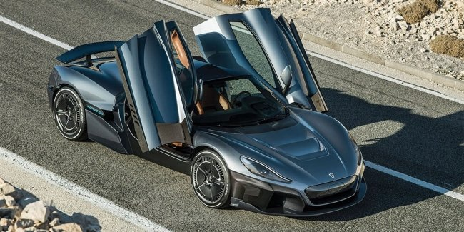 Новый гиперкар Rimac наберет «сотню» быстрее Tesla Roadster
