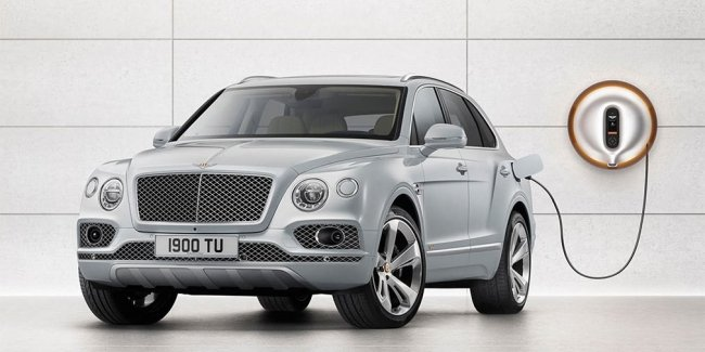 Bentley Bentayga стал гибридом