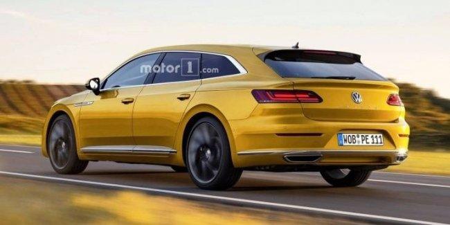 VW выпустит универсал Arteon Shooting Brake