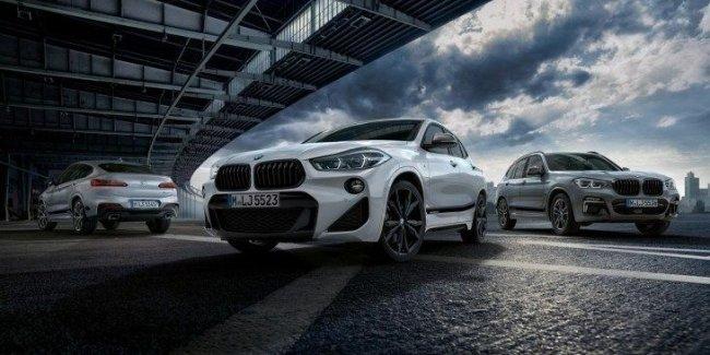Кроссоверы BMW X2, X3 и X4 обзавелись пакетом M Performance