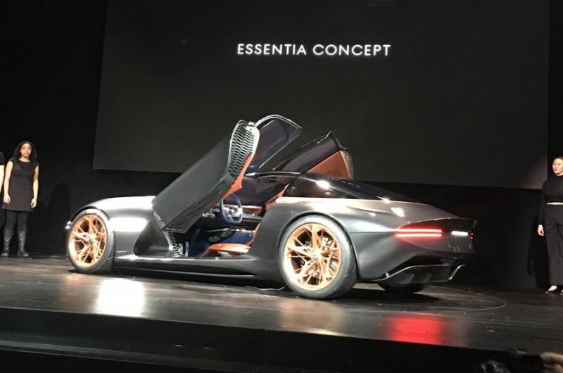 Genesis удивил Нью-Йорк концептом Essentia