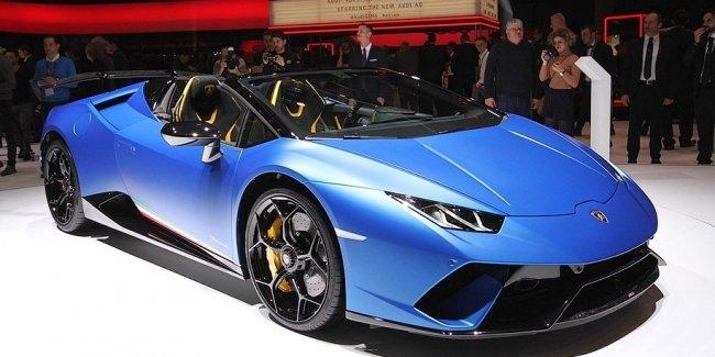 Самый крутой Lamborghini Huracan лишили крыши