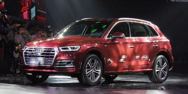 Audi сделала удлиненный Q5 с колесной базой A6