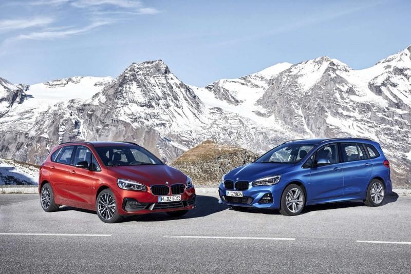 BMW 2-Series AT и GT приехали в Женеву с обновленным «лицом»