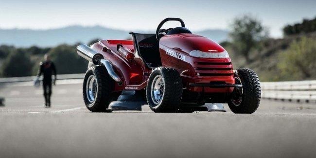 Honda сделает самую быструю газоносилку в мире еще быстрее