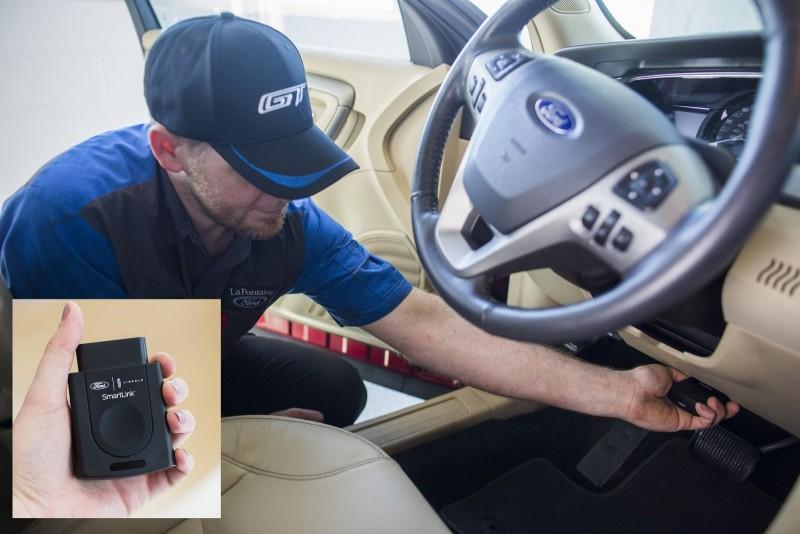 FordPass SmartLink предлагает современные технологии старым моделям