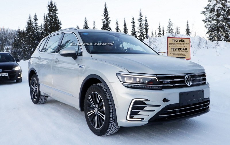 VW Tiguan GTE: плагин-гибрид собирается пойти в производство