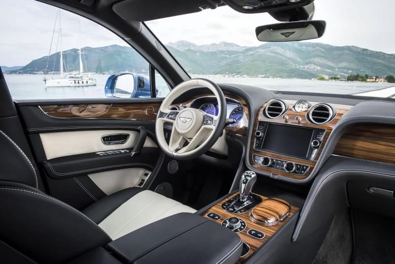 Bentley использует для отделки древесину из устья Миссисипи