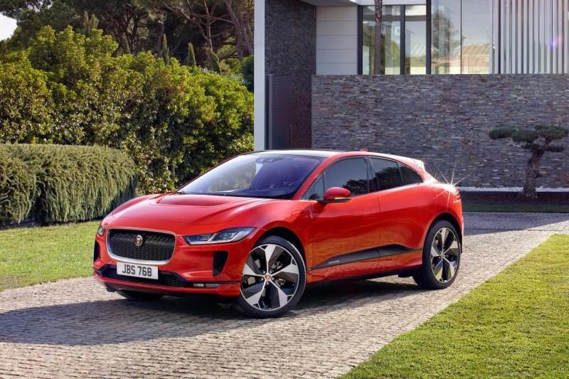 Первый электрокар Jaguar: I-PACE представили официально