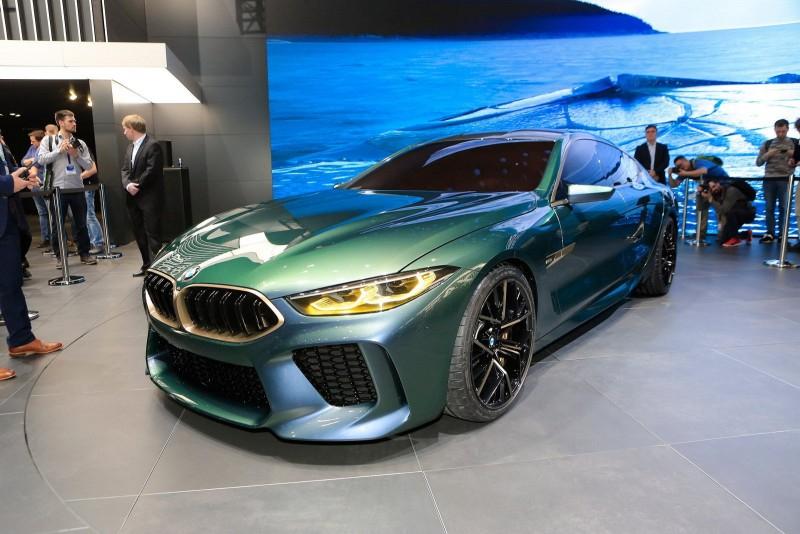 Женева 2018: концепт BMW M8 Gran Coupe
