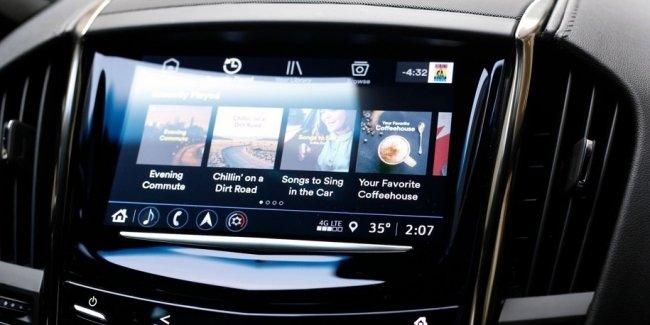 Cadillac научил машины стримить музыку без смартфонов
