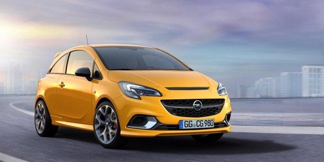 Opel Corsa получила спортивную версию