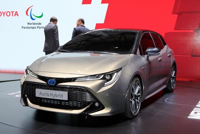 Женева 2018: абсолютно новая Toyota Auris