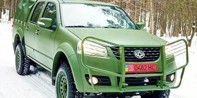 В Украине началось производство внедорожников для замены армейских УАЗов