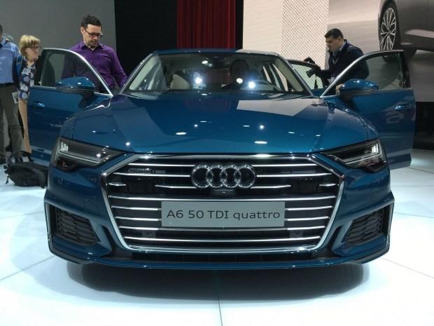 Торжество технологий со строгим дизайном — Audi A6 представлен в Женеве