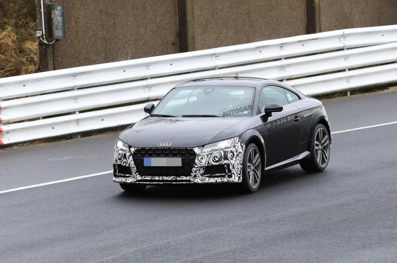Обновленную 2019 Audi TT покажут уже в этом году