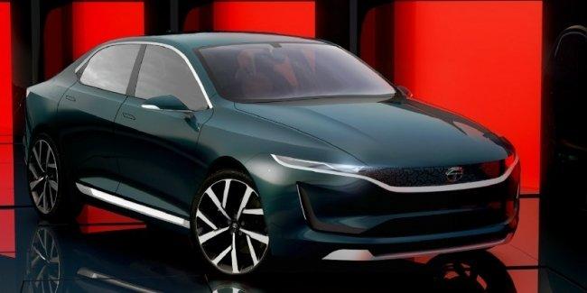 Tata представила стильный седан EVision Concept