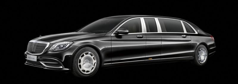 Mercedes обновил Maybach Pullman и добавил мощности двигателю