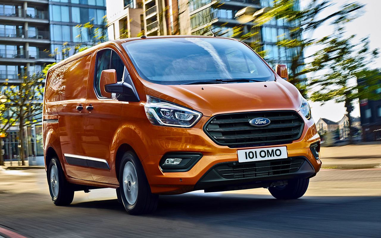 Обзор Ford Transit 2018 Custom и проверка его возможностей