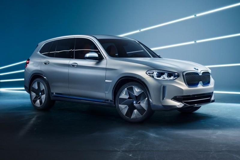 Концепт BMW iX3 запускает новую эру электрических внедорожников бренда