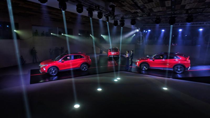 В Украине презентовали Mitsubishi Eclipse Cross: цены