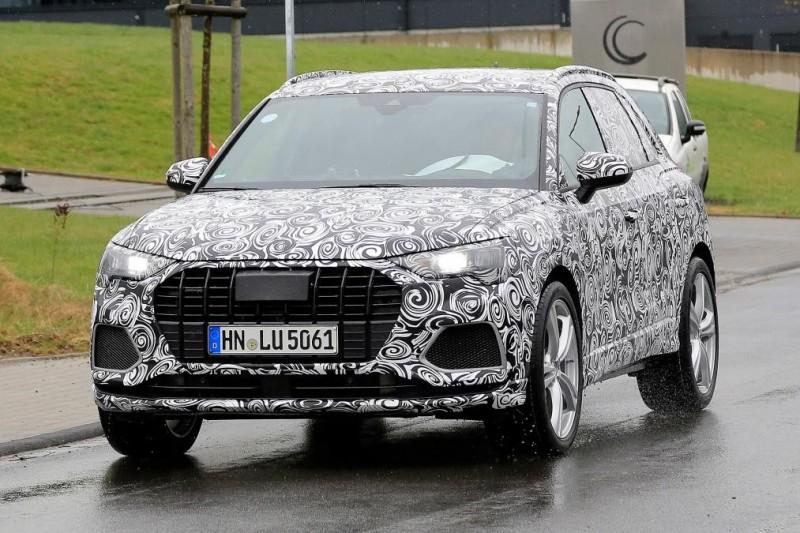 Audi готовит еще одну горячую версию — SQ3 [шпионские фото]