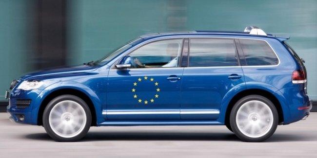 Авторынок ЕС впервые за последние шесть лет просел