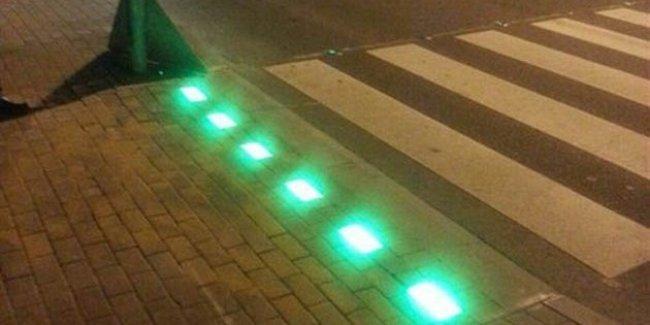 Испанские города «украсили» переходами для «смартфонозависимых» пешеходов