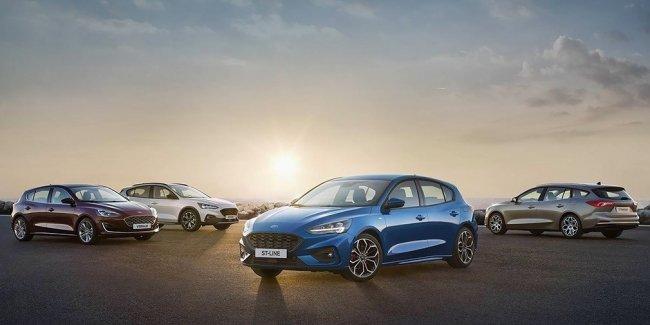 Ford показал новый Focus