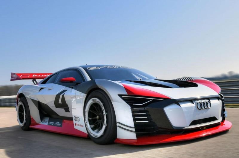 Audi e-Tron Vision Gran Turismo: из виртуальной игры в реальность