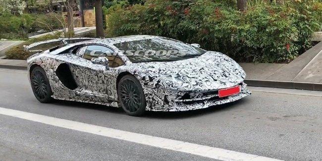 Суперкар Lamborghini Aventador SVJ будет 800-сильным