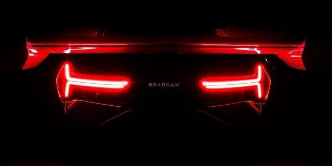 Первый суперкар Brabham: мотор 5.4 V8 и 37 миллионов гривен
