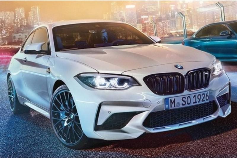 Горячая версия BMW M2 Competition просочилась в Сеть