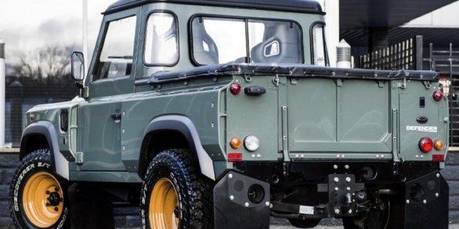 Пикап Land Rover Defender будет конкурировать с Mercedes-Benz X-Class