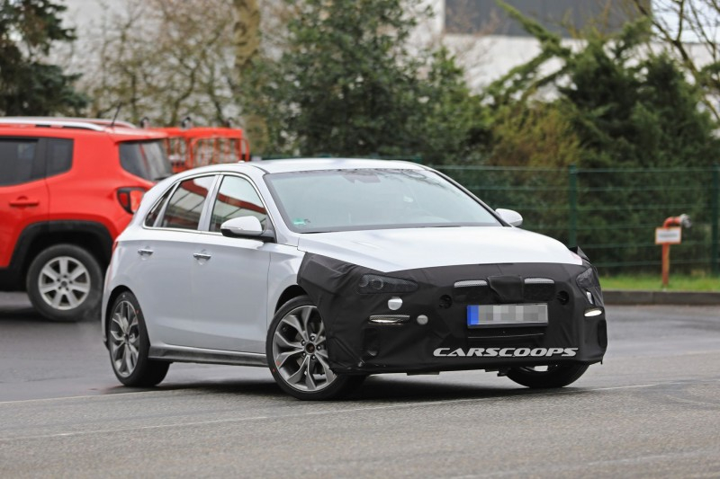 Hyundai готовит обычной модели i30 спортивный пакет