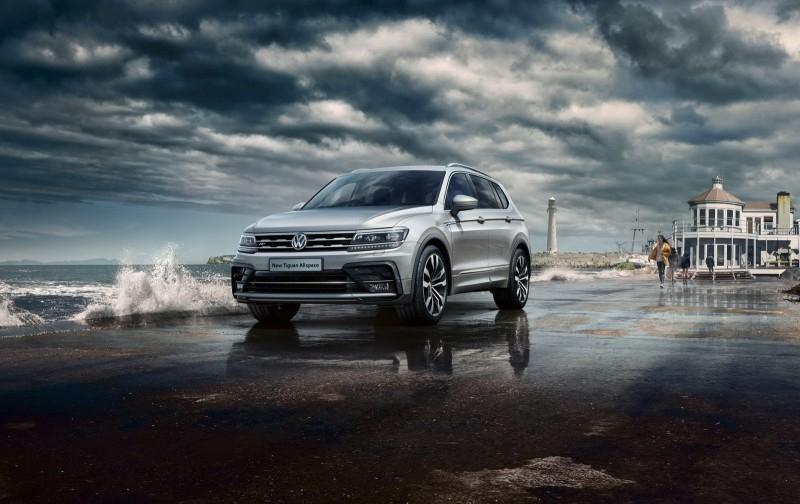 VW T-Roc и Tiguan стали более спортивными в отделки R-Line
