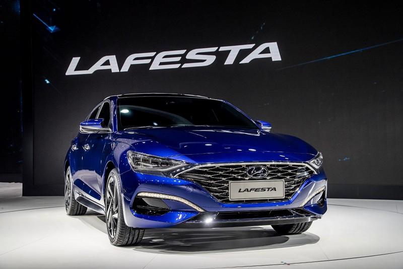 Hyundai Lafesta, дебютировавшая в Китае, напомнила A7 и Mustang