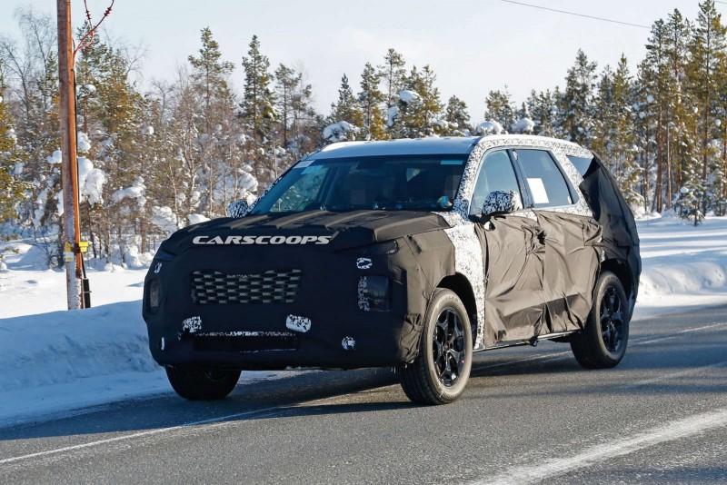 Большой флагманский внедорожник Hyundai назовут Palisade