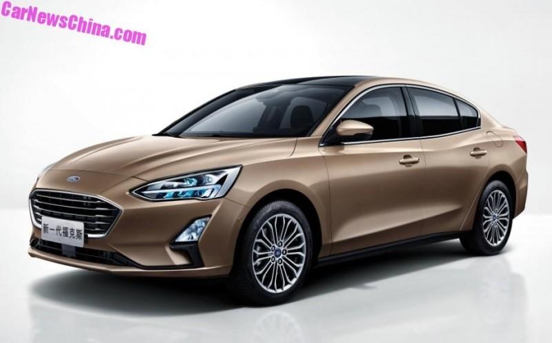 Седан 2019 Ford Focus получил чисто «китайский» салон