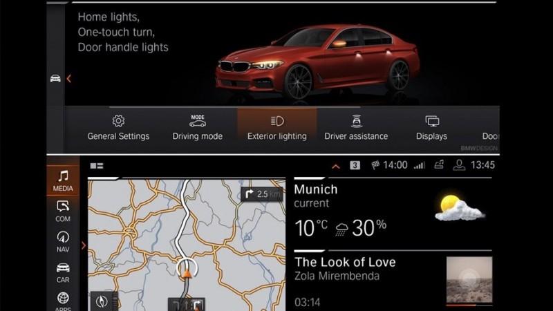 Как будет выглядеть приборная панель новых BMW?