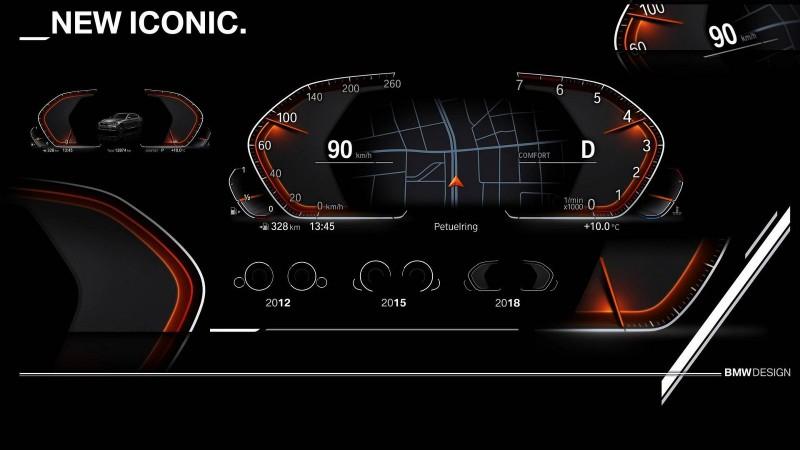 BMW похвасталась цифровыми новинками, включая панель приборов