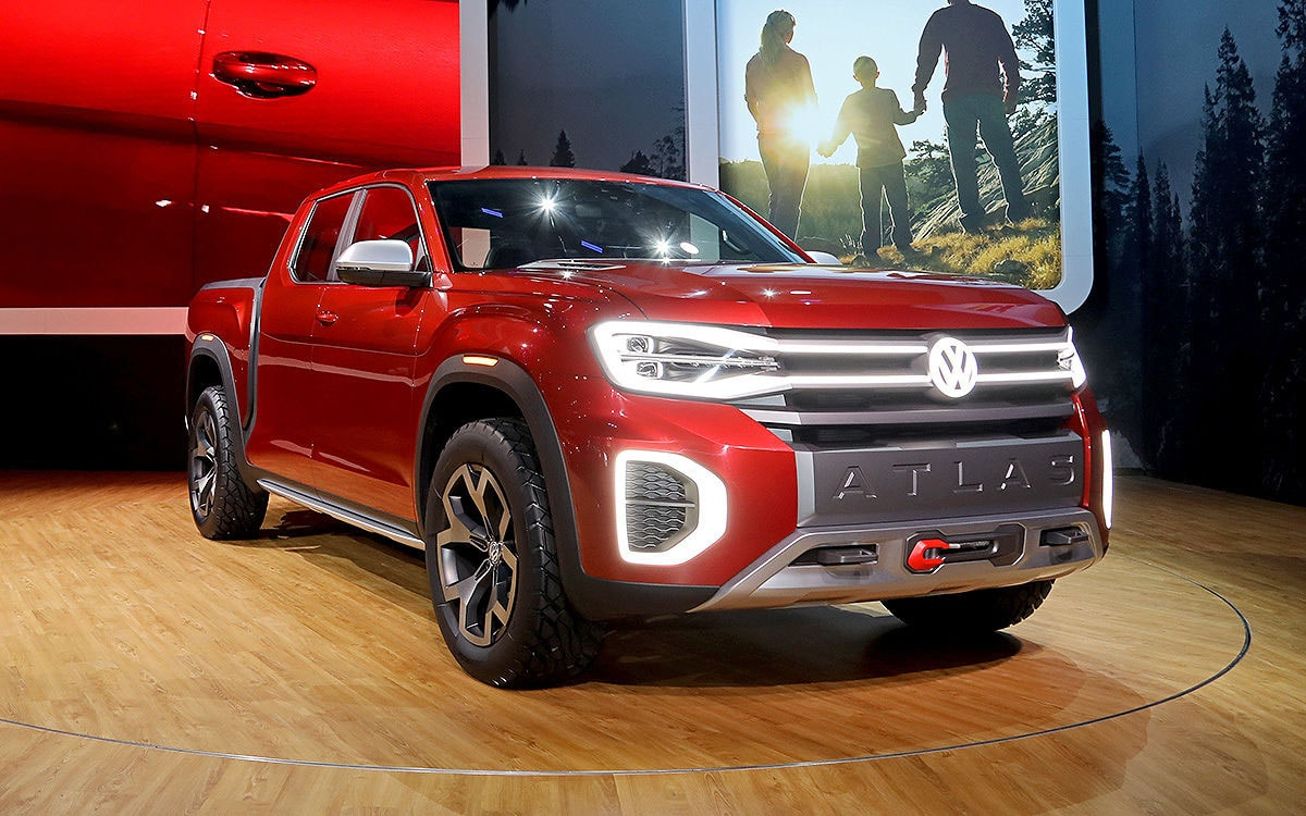 VW Atlas Tanoak Concept 2018
