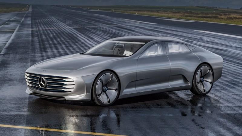 Электрический S-Class будет выглядеть столь необычно как концепт